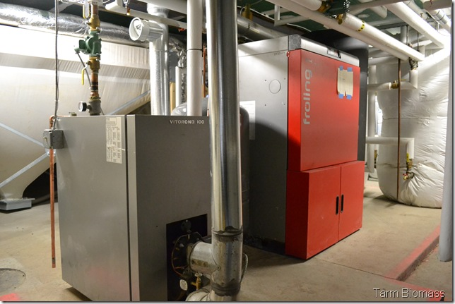 Froling P4 Fully Automatic Pellet Boiler Stanislaus 6