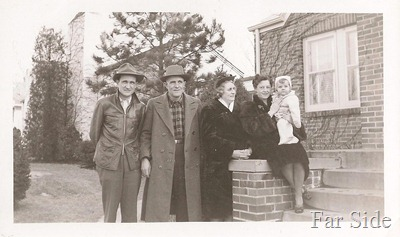 1948 Omaha Marvin, James X, Teresa, Charolette and Roxie