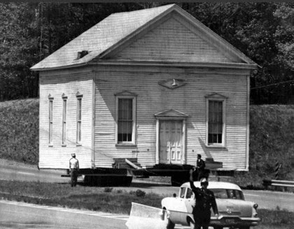 Moving Brown s Chapel in 1968
