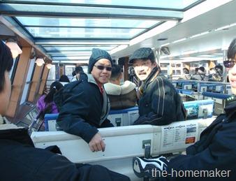 19 Kaji & Sang on Ferry - Tokyo Bay Cruise