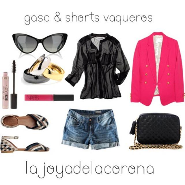 gasa y shorts