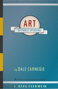 Cover of Dale Carnegie's Book The Art Of Public Speaking