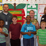 WBFJ Cici's Pizza Pledge - Alderman Elementary - Ms. Norman's 5th Grade Class - Greensboro - 9-4-13