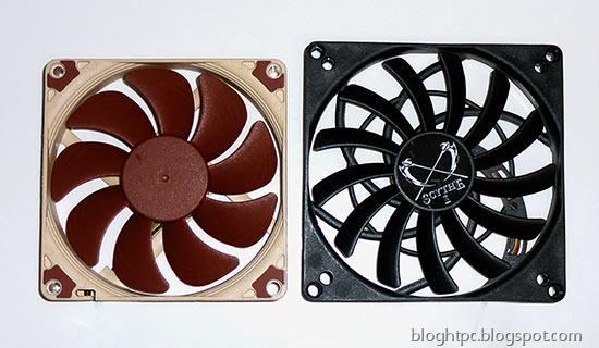 Ventilador NOCTUA NF-A9x14 comparado