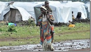 Congo, displacement in the East