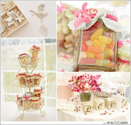 Semplicemente Perfetto Vintage Tea Party Wedding 05