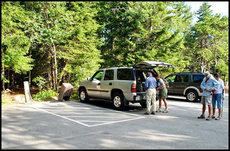 01 - Gorham Mtn Hike - Parking Area