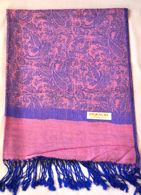 Mix Pashmina Stole with pattern