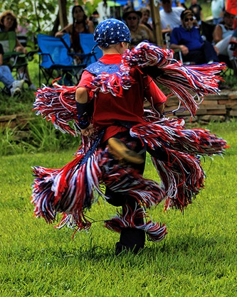 Lenape Powwow Fancy Dancer13