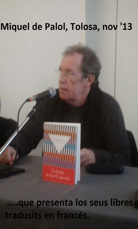 Miquel Palol a Tolosa
