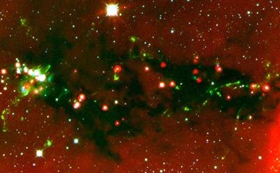 jatos de formação estelar e protoestrelas