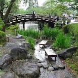 gorgeous little creek at Edo Wonderland in Nikko, Totigi (Tochigi) , Japan