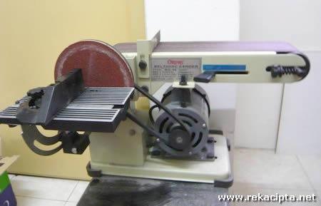 Rekacipta.net - Belt dan Disk Sander 25