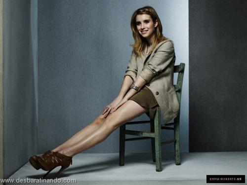 Emma Roberts linda sensual sexy sedutora desbaratinando (47)
