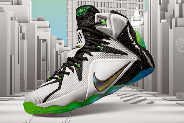 Upcoming Nike LeBron 12 AllStar Inspired by The Flatiron Building