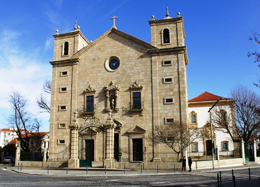 Portugal - Castelo Branco - Sé Concatedral vista a partir da torre do Castelo- Glória Ishizaka