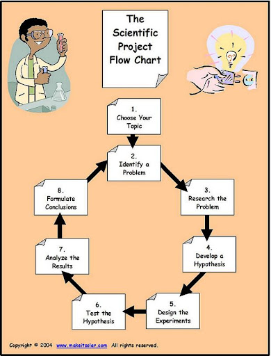 Review of the steps of the Scientific Method