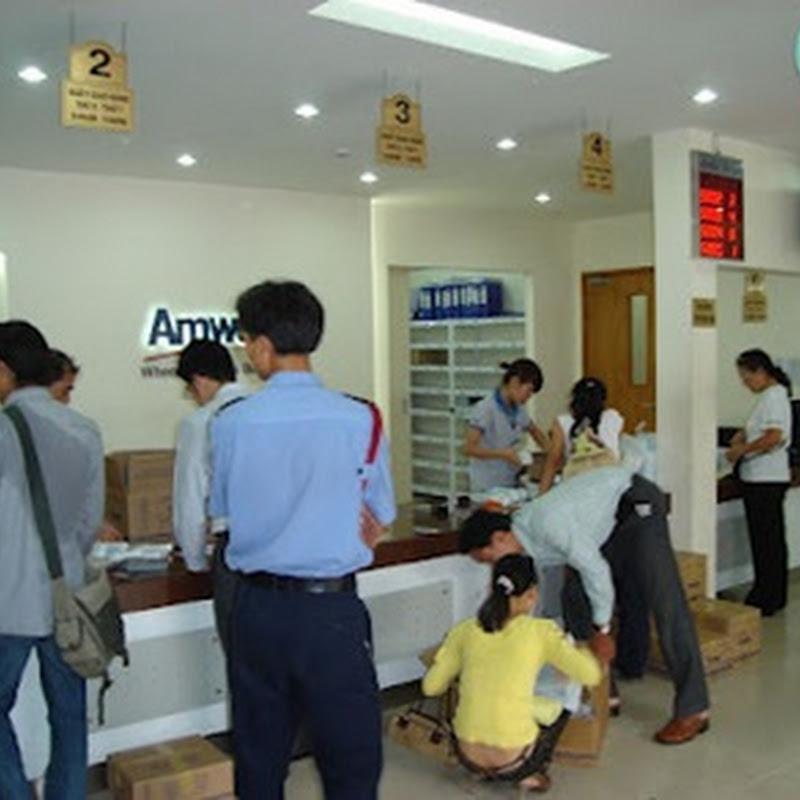 Các điểm giao hàng của hệ thống Amway Việt Nam