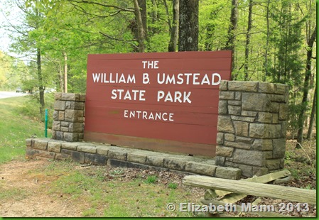 William Umstead State Park Sign