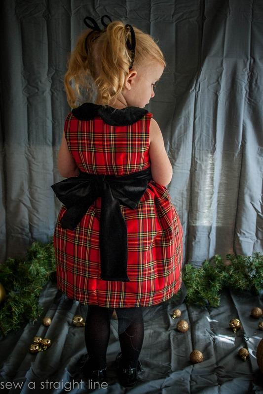 christmas vintage kate dress sew a straight line-9