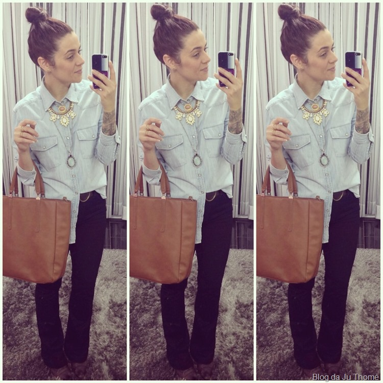 look jeans camisa jeans calça jeans e acessórios (2)