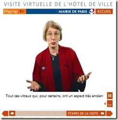 Visite virtuelle de l'Hôtel de ville de Paris