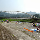 bridge in Akiruno in Akiruno, Tokyo, Japan