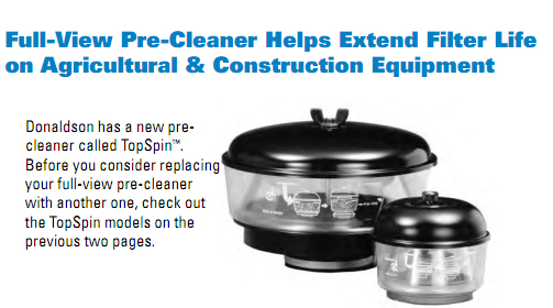 Donaldson Air Cleaner Tops : Donaldson pre cleaners land cruiser club