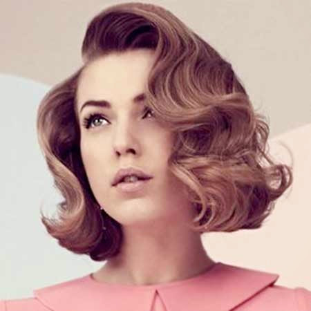 Cute Perfect Vintage Hairstyles Short Hair