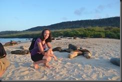 Sea lions & Lisa