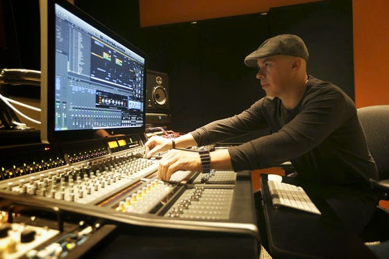Luca Pretolesi with SSL Matrix2 560