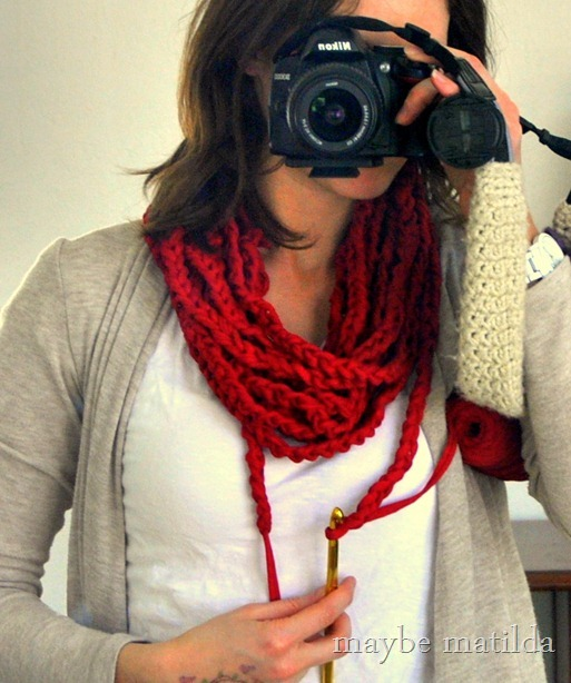 Make an easy DIY spring cowl