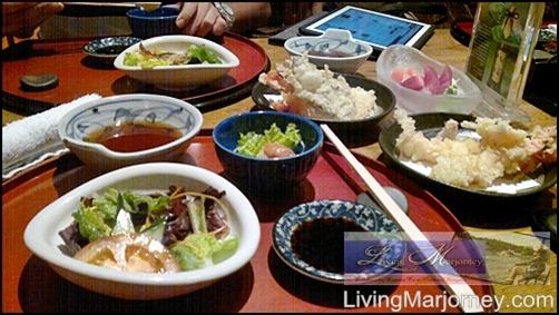 Senju's Appetizer & Salad