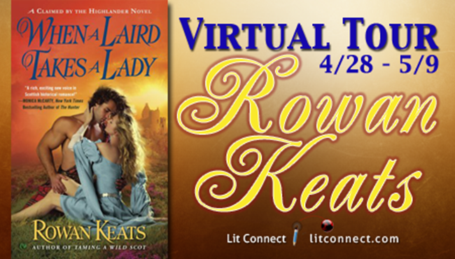 Badge _Rowan Keats _ When A Laird Takes a Lady