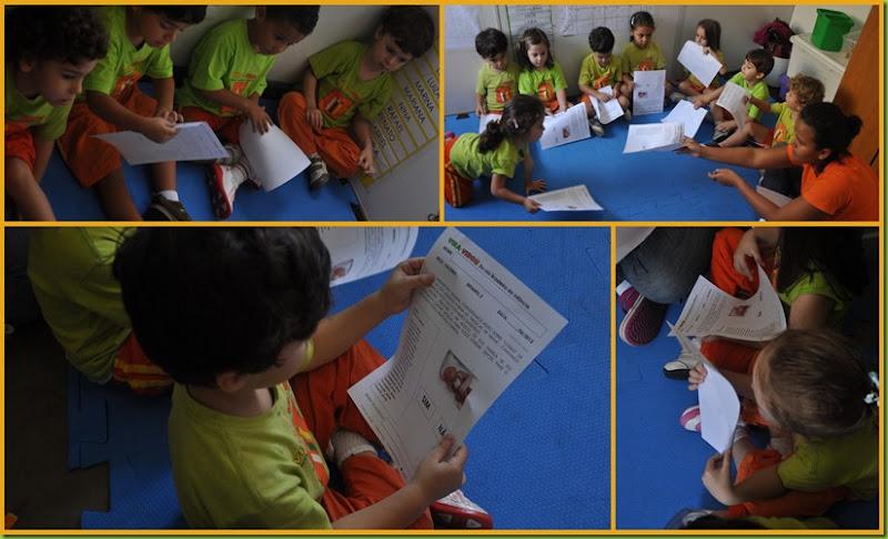 Infantil 3 Tarde - Escolha de livro2