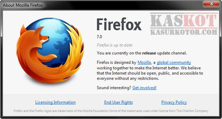 Cara Downgrade Firefox 7 ke Firefox 6
