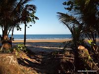 Ausblick von unserem Camp in Mission Beach