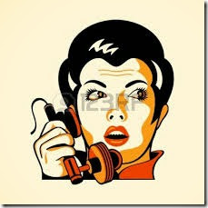on phone