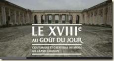Le XVIIIe au goût du jour à Versailles