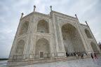 L'entrée du Taj
