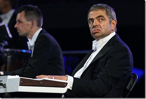 mr bean performed