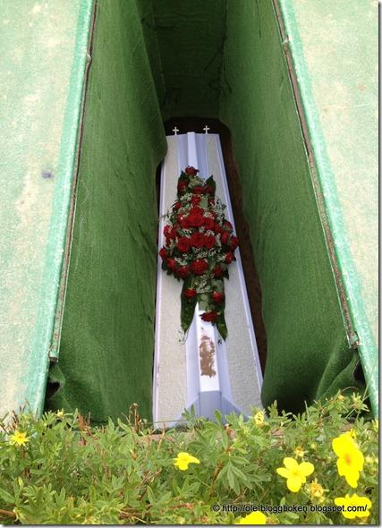Gullans grav