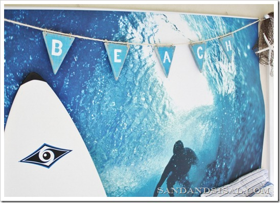Pottery Barn Surf Mural
