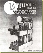 1936 French_VISIODYNE_BABY_TV