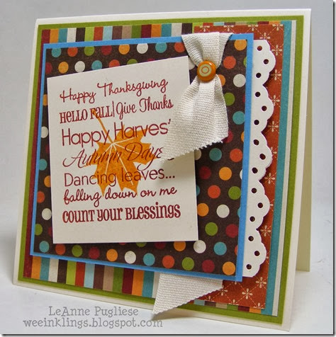 LeAnne Pugliese WeeInklings Thanksgiving Creative Time Retro Sketches 85