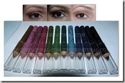Mini Lapis para os Olhos com 12 cores(1)