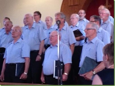 Ottawa Valley mens choir