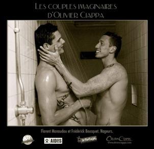 Florent Manaudou e Frédérick Bousquet