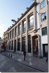 Belgian Centre of Design/Comic Strip Museum - Art Nouveau building by Horta