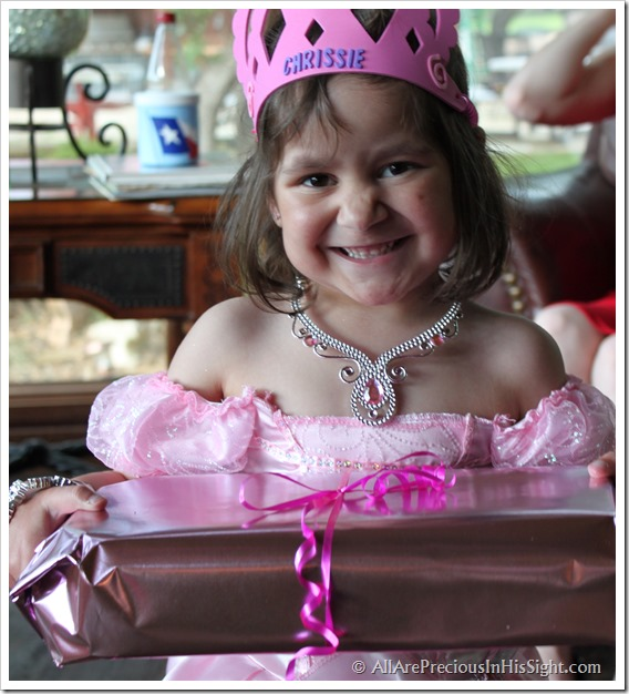 Chrissie's princess party and surgery 162